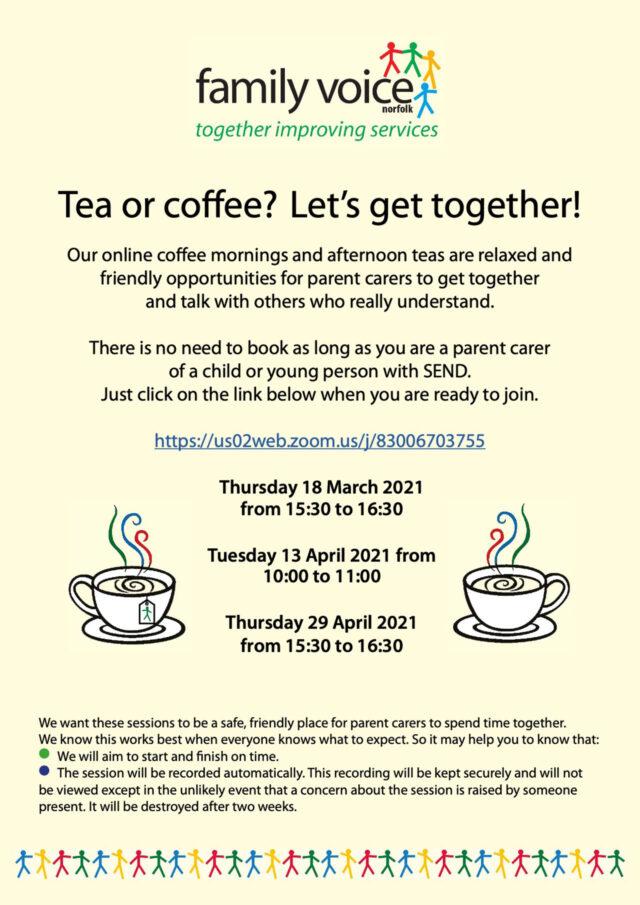 Coffee Tea March Apr 2021